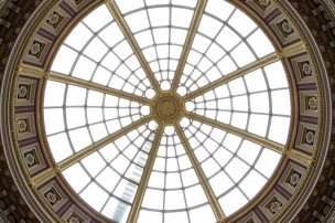 Koepel op het gebouw van de National Gallery