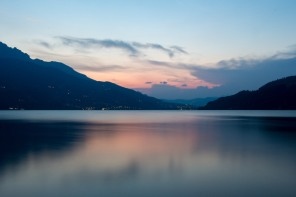 Een avond aan het Caldonazzomeer