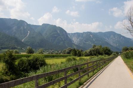 Fietspad van Lago di Caldonazzo tot aan Bassano del Grappa