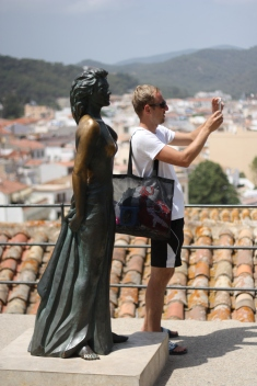 Selfie in Tossa de Mar