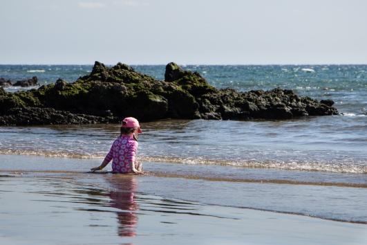 Spelen als een kind met de golven