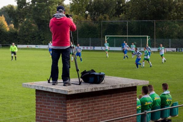 CTV Zeeland cameraman in actie bij SVH