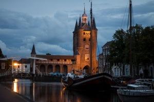 Museumhaven en Noord- en Zuid Havenpoort