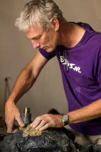Week 31: Arjen Pouwer aan het werk in zijn atelier