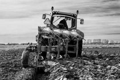 week 42, En de boer die ploegde voort…
