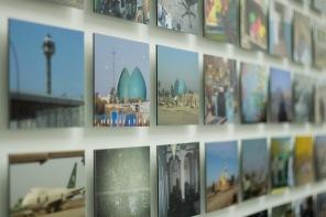 Foto's aan de wand