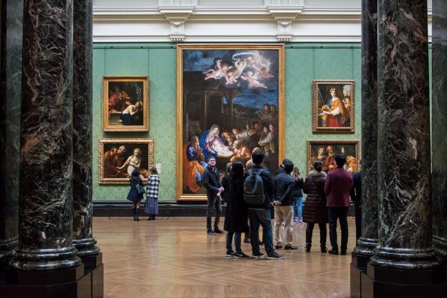 De grootte van het schilderij