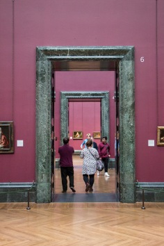 Doorkijkje in de National Gallery