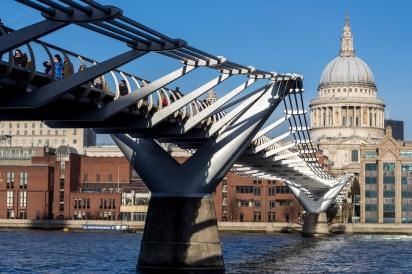 week 48 | Millenniumbridge Londen