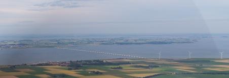 Zeelandbrug vanaf Noord-Beveland