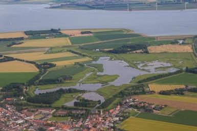Natuurgebied bij Oosterland