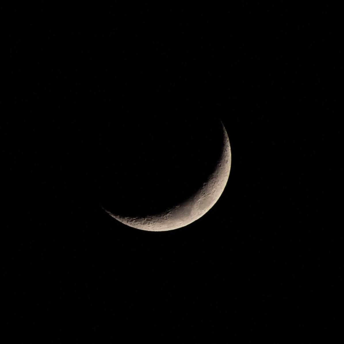 Nieuwe maan, 10 maart 2019, dag 19 vanaf volle maan. Tijdstip: 20.54 uur Maanopkomst 08.55 Maanondergang 22.42 (Maan 19)
